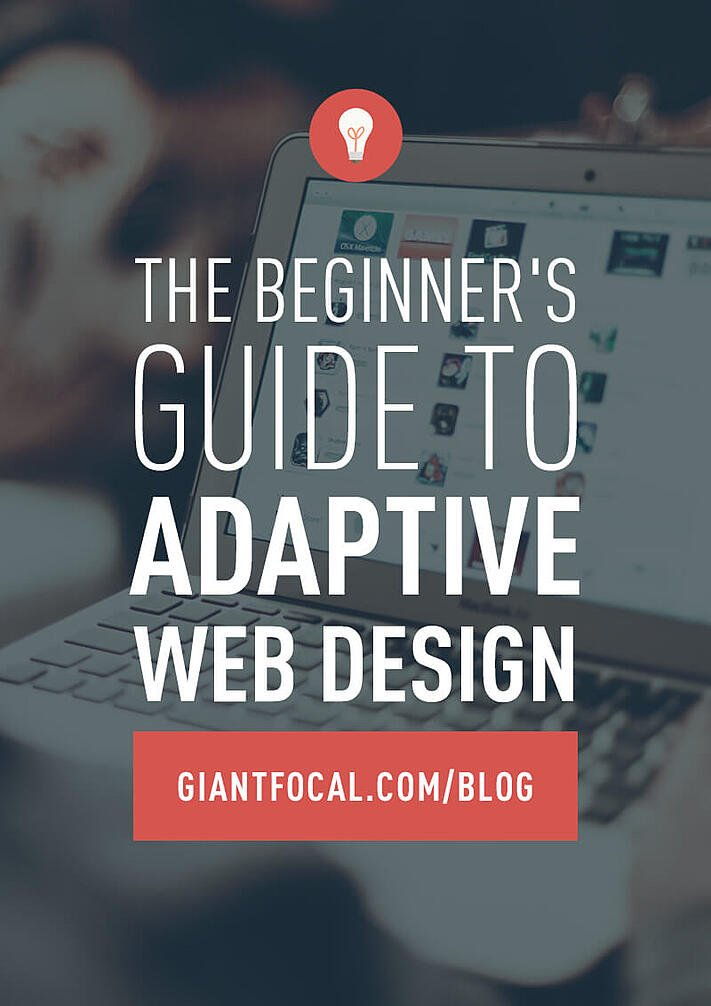 What is adaptive web design?