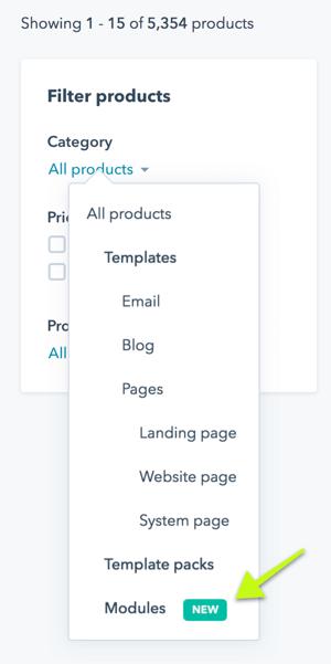 hubspot-module-marketplace