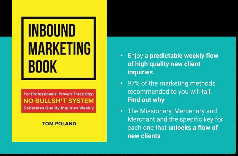 Inbound Marketing Book Tom Poland
