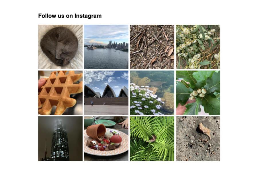 Instagram Feed for HubSpot